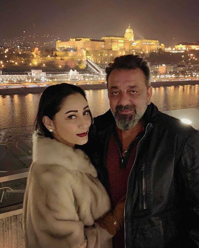 Sanjay Dutt With Wife