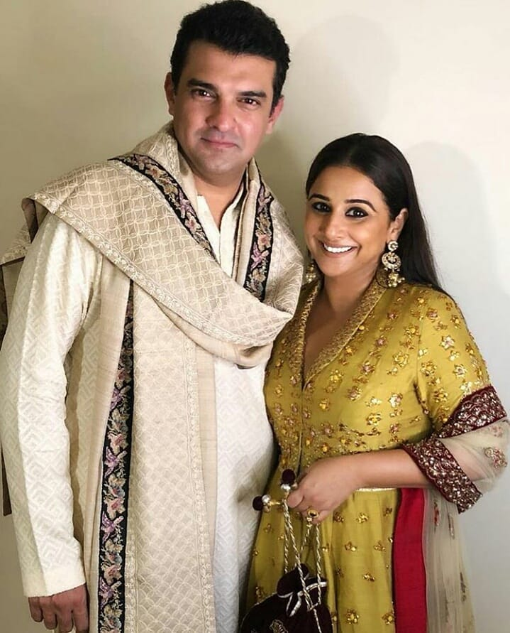 Sidharth Roy Kapur With Wife